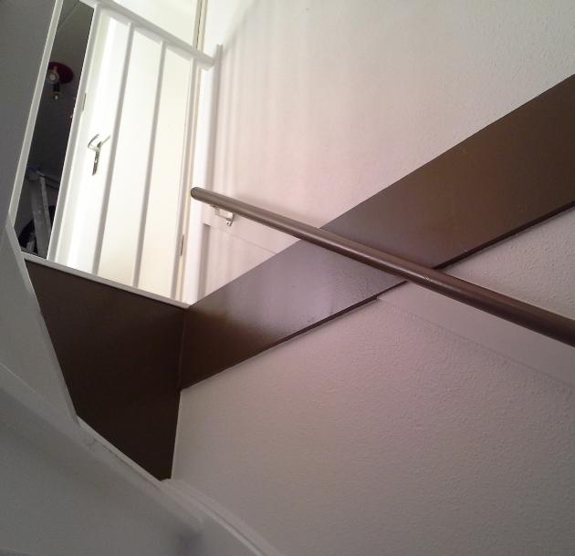 Kamer en trappenopgang te Duiven