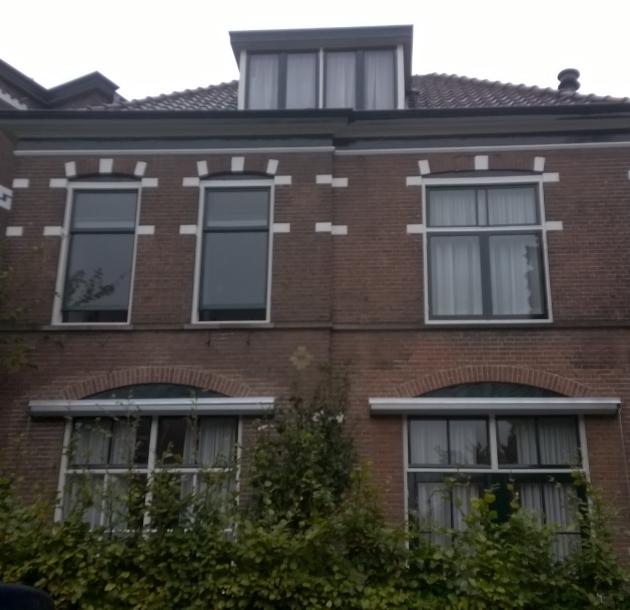 Woonhuis geschilderd op de Pels Rijckenstraat te Arnhem